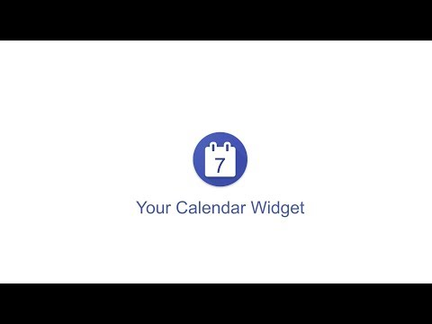Your Calendar Widget for PC - Free download in Windows 7/8/10