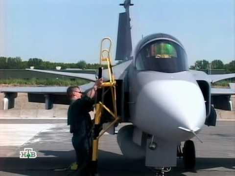 Военное дело - Шведский грипен - YouTube