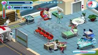 Hysteria Hospital fun and frantic video game on Nintendo Wii DS and PC