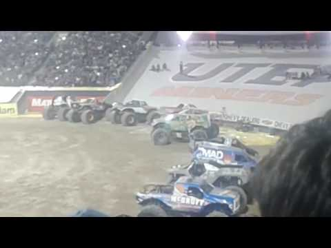 Monster Jam El Paso Tx freestyle 2017