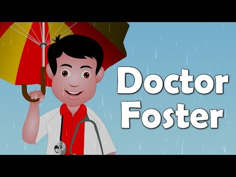 Doctor Foster | English Nursery Rhyme for Kids