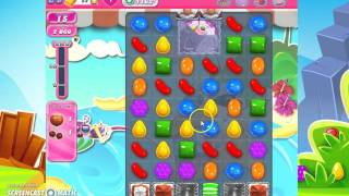 candy crush saga level 1162! NO BOOSTERS!