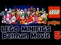 LEGO Batman movie mini figures - Batman! Batman! Batman!