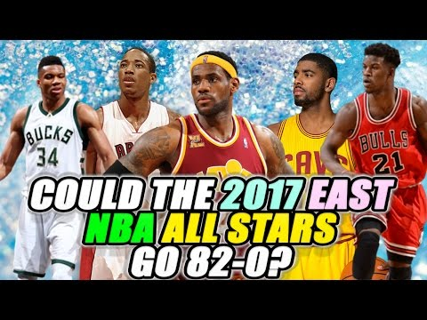 Could The 2017 NBA East All-Star Starters go 82-0?