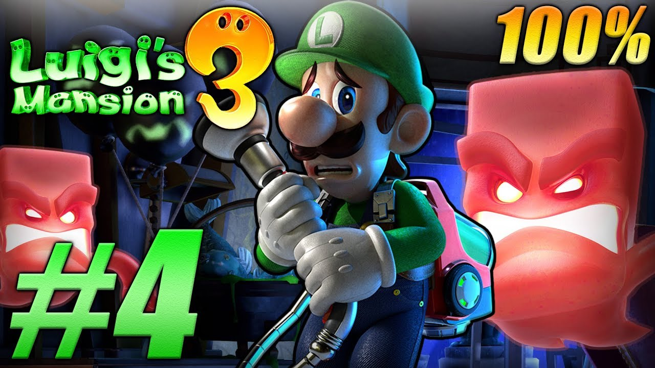 Luigi S Mansion 3 100 Walkthrough Part 4 Hotel Shops 3f