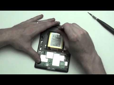 Amazon Kindle 4th Generation Take Apart Repair Guide D01100