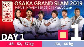 Judo Grand-Slam Osaka 2019: Day 1 Tatami 1