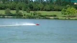 rc gas  boat  race rocket Zenoah