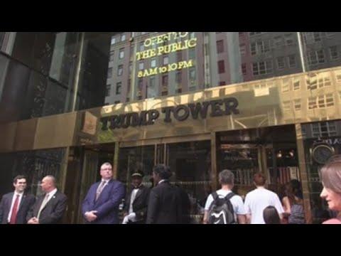 Neoyorquinos llevan hasta Torre Trump propuesta nombrar avenida Barack Obama