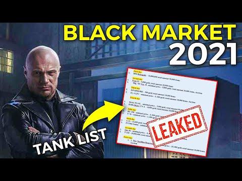 Black Market 2021 - Leaks, Tanks and More! | World of Tanks Black Market 2021 Tanks