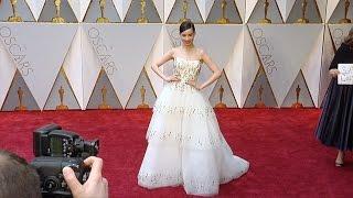 Sofia Carson 2017 Oscars Red Carpet