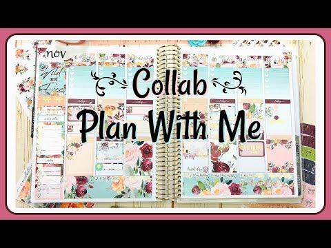 Plan With Me / Nov 6-12 / Collab With Nikki Plus Three