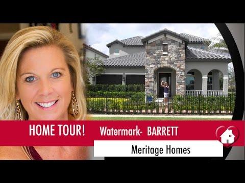 New Homes Winter Garden Watermark by Meritage Barrett Model
