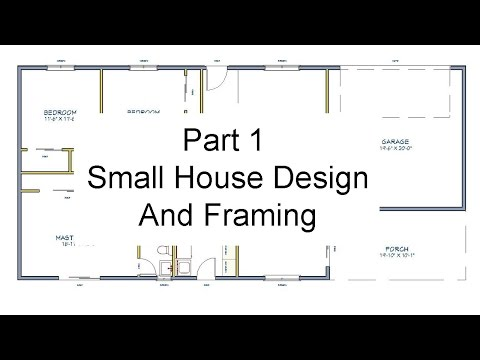 Part 1 - Floor Plan Measurements – Small House Design And Framing