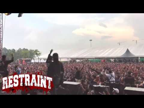 RESTRAINT LIVE AT ROCK THE WORLD 2017
