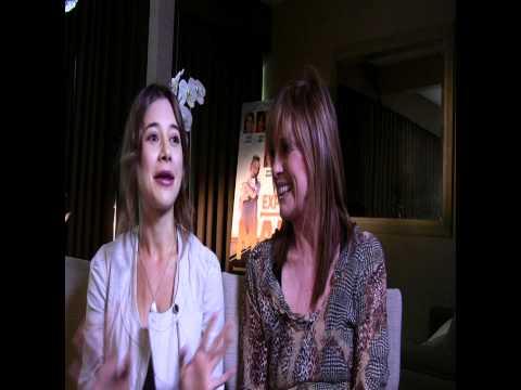 Expecting Mary  Exclusive: Olesya Rulin and Linda Gray