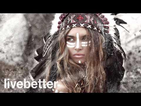 Música relajante nativa americana con sonidos de la naturaleza - Flauta de los nativos americanos