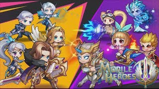 GAME VIRAL! MOBILE HEROES - MOBILE LEGENDS VERSI RPG DENGAN KARAKTER HERO YANG CHUBY + DOWNLOAD LINK