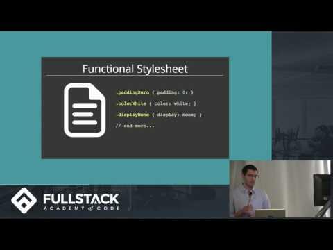 Tech Talk: Functional CSS: An Introduction with ReactJS