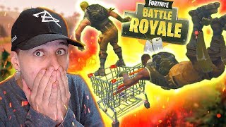 SUPERMARKET BUGGY BUG AT FORTNITE ‹ Allanzito ›