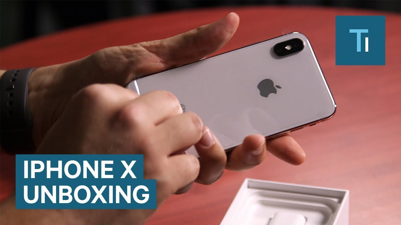 05b94079550 Unboxing The iPhone X: Everything Inside And What You'll Need To Get ...