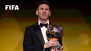 LIONEL MESSI REACTION: FIFA Ballon d