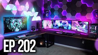 Room Tour Project 202 - BEST Gaming Setups!
