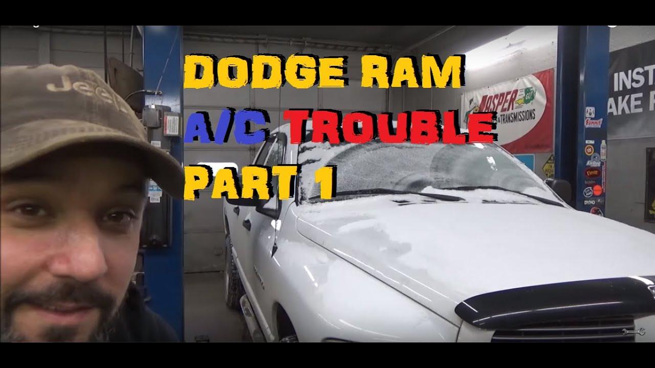 Dodge Truck A/C Repair Part 1 - YouTube