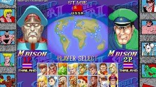 [Fightcade HD] - Hyper Street Fighter II Online Casuals - fabioST (BRA) vs. hunterduker (BRA)