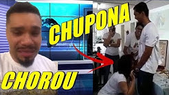 PROFESSORA COLOCANDO CAMISINHA / VIDEO DA ANITTA CHEIRANDO PÓ / NALDO BENNY CHORANDO