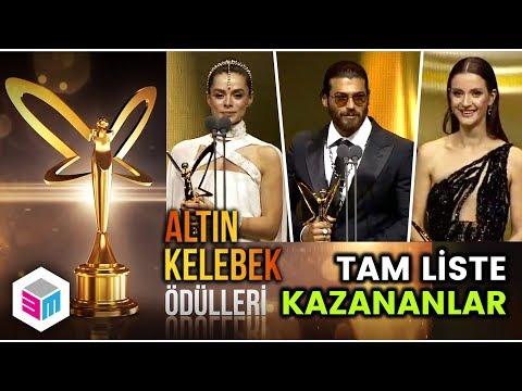 2018 Altın Kelebek Ödüllerini Kimler Kazandı - Tam Liste