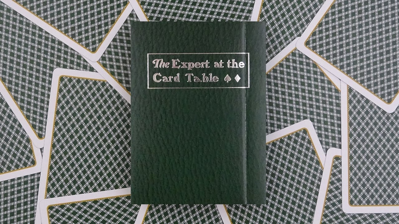 The Expert At The Card Table Playing Cards | Deck Review  Display
