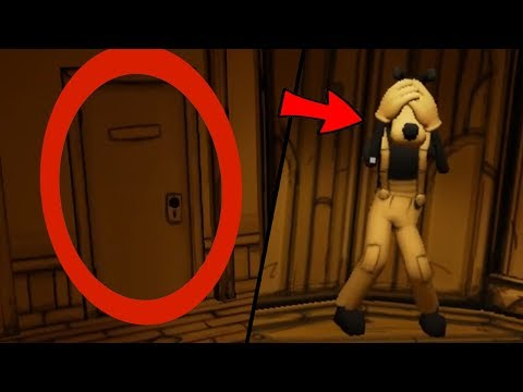 SOME WEIRD SECRETS!!! YOU WONT BELIEVE THIS   Bendy And The Ink Machine Chapter 3 #2