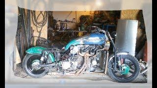 МОТОТАЗ. Внешний вид .Мотоцикл с двигателем от Ваз 2109. Часть 14.