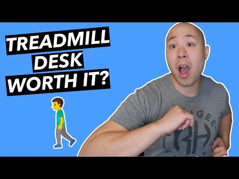 Should You Get a Treadmill Desk? (ULTIMATE home office setup)