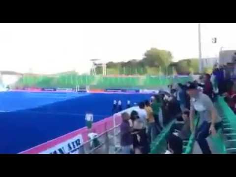 Go Nawaz Go in Asian games Korea Pakistan vs China Hockey Match