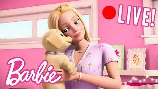 🔴 L VE ЛУЧШИЕ МОМЕНТЫ из приключений Барби в Доме мечты Barbie Россия 3