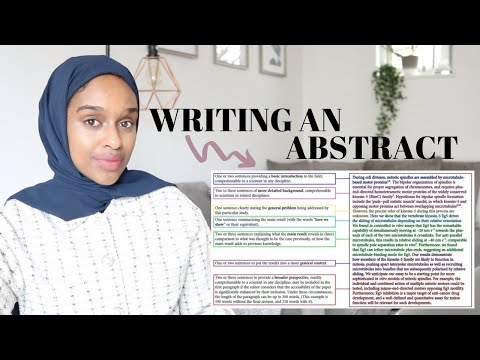 How To Write A Strong Abstract | Report Writing Guide