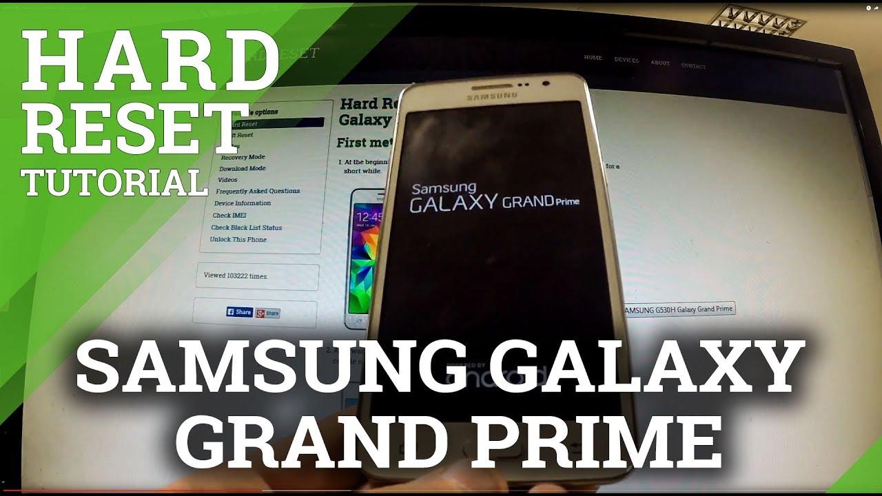 Hard Reset SAMSUNG Galaxy Express Prime - HardReset info