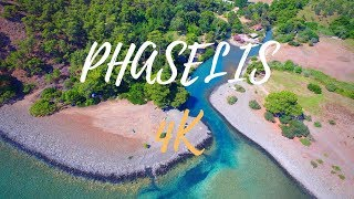Gambar cover Antalya Phaselis drone footage [TURKEY] in 4K - 2016