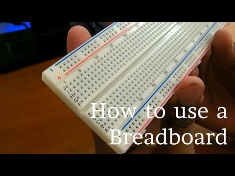 How To Use A Breadboard Youtube