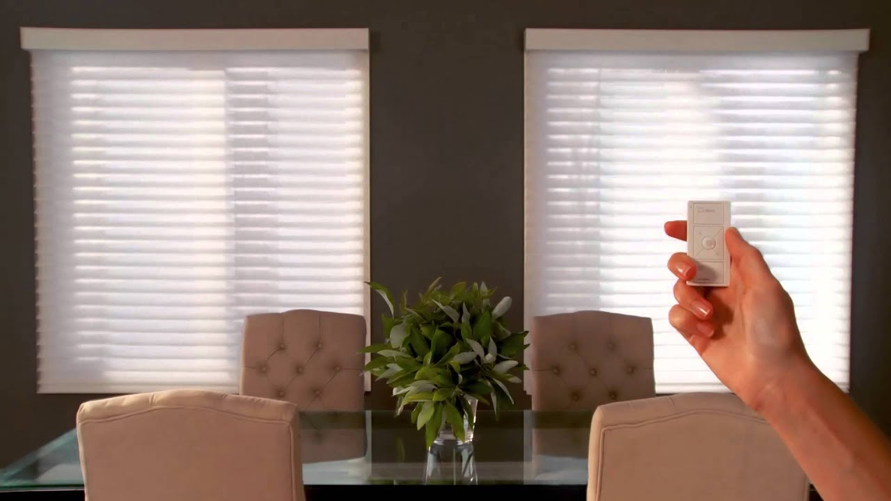 New shading innovations by lutron youtube for How to install motorized blinds