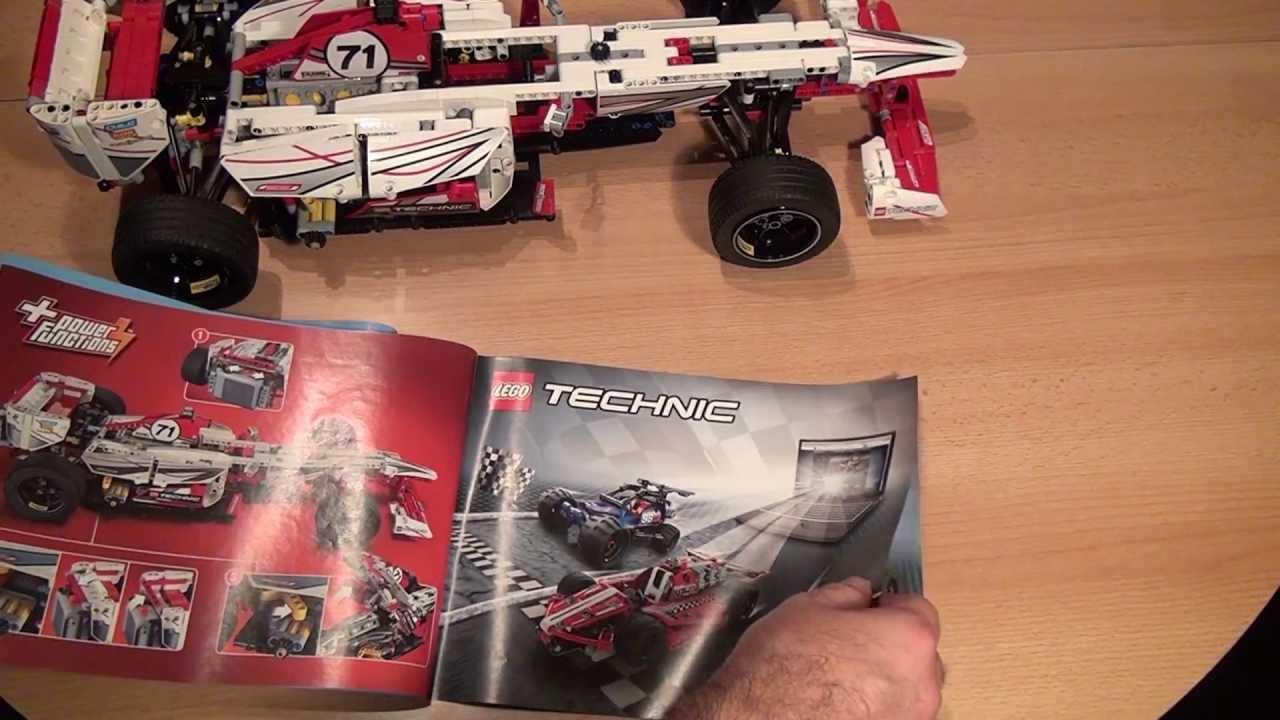 test lego grand prix racer lego technic set 42000 youtube. Black Bedroom Furniture Sets. Home Design Ideas
