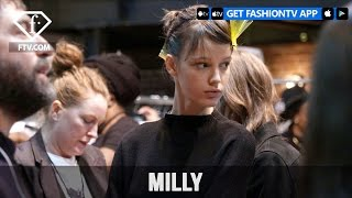 New York Fashion Week Fall/WItner 2017-18 - Milly Make Up | FashionTV