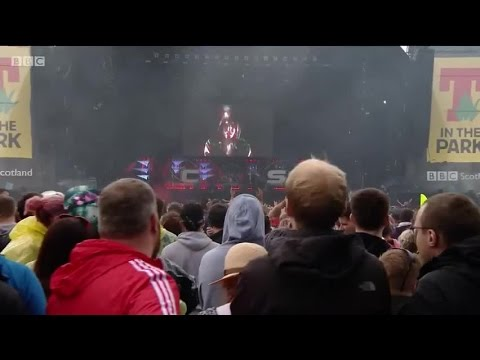 at T in the Park 2016 Chase and Status