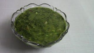 / palakachi patal bhaji  /  spinach vegetable recipes