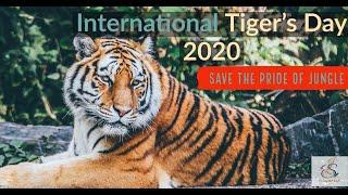 International Tiger's Day 2020  29th July 2020  Save Pride of Jungle  Er. Jaspreet Singh
