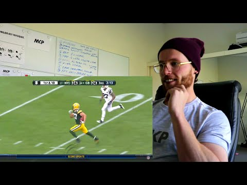 Rugby Player Reacts to JORDY NELSON Green Bay Packers NFL Highlights YouTube Video