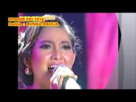 (1,05) Dahlia :  BUNGA DAHLIA  - Konser  KDI 2014