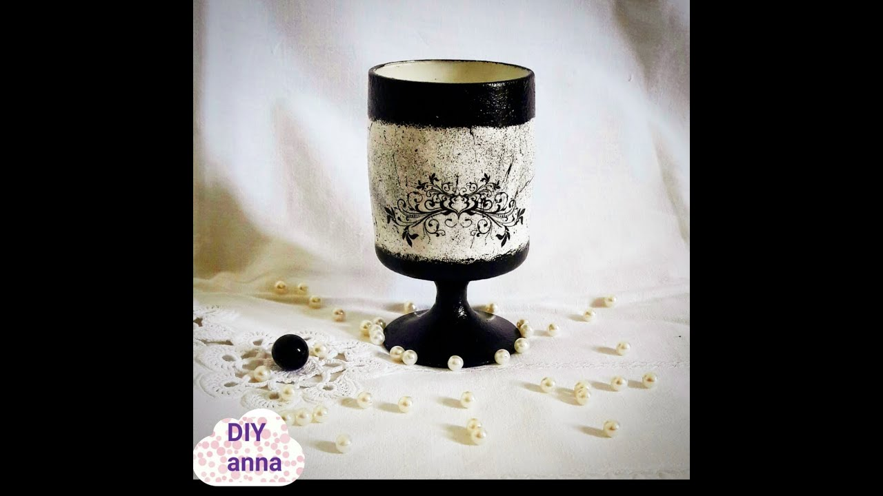 Decoupage Glass Photo Transfer With Mod Podge Diy Shabby